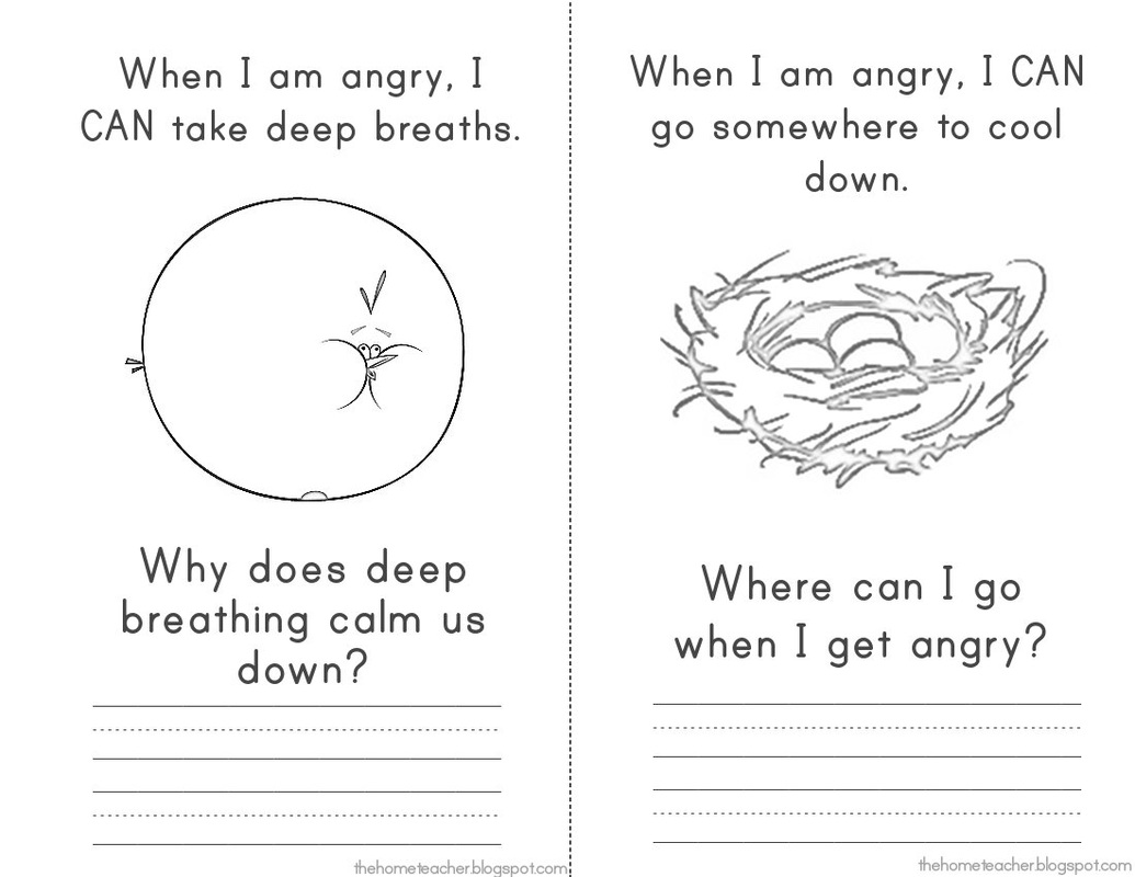 SG Anger Management Elementary School Counseling – Free Anger Management Worksheets