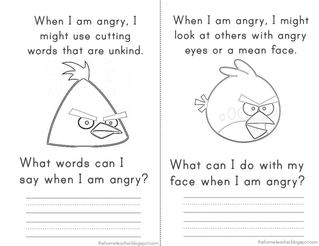 Printables Anger Management For Kids Worksheets identifying and expressing feelings elementary school counseling picture
