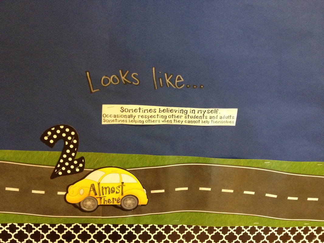 Core Value Bulletin Board Elementary School Counseling
